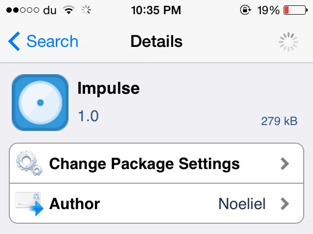 impulse-tweak